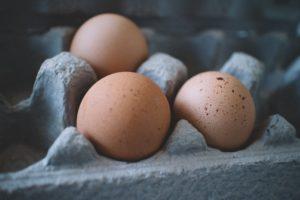 Los huevos poseen gran valor de grasas y proteínas.