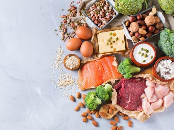 Alimentación con proteínas